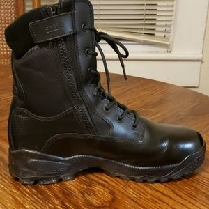 "Men's 5.11 ATAC 8"" Storm Size 14 Black Duty Boots"